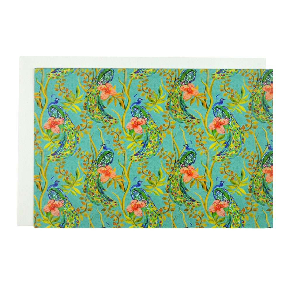 Walter Knabe Notecard Set Peacock