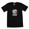 Walter Knabe Unisex Short Sleeve T Shirt Race - Black