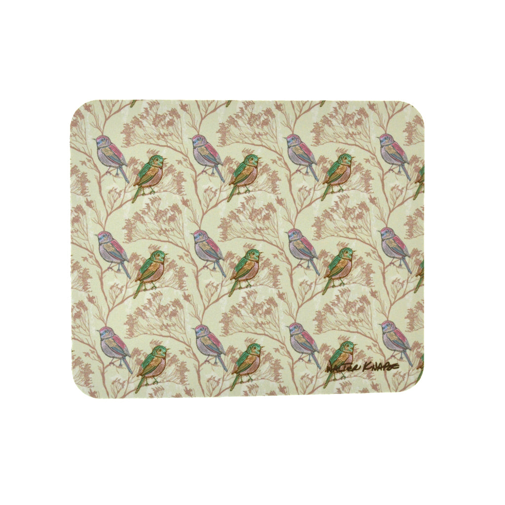 Walter Knabe Mouse Pad Spring Birds