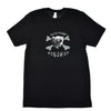 Walter Knabe Unisex Short Sleeve T Shirt WK Worldwide - Black