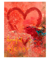 Walter Knabe Artwork Hopeful Heart Original Painting