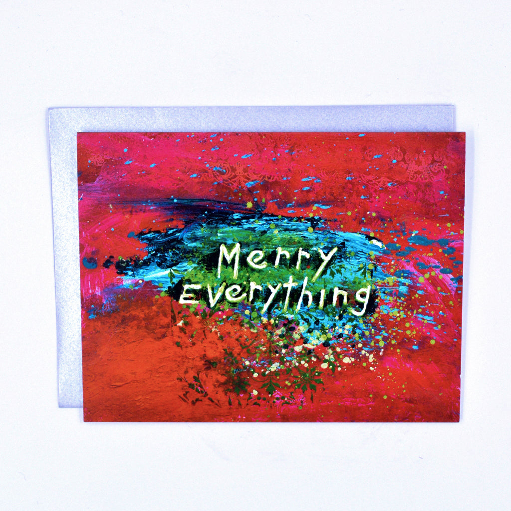 Walter Knabe Holiday Notecard Set Merry Everything