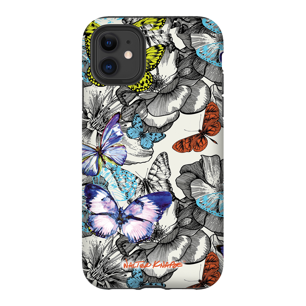 Walter Knabe iPhone Tough Case Butterfly Garden