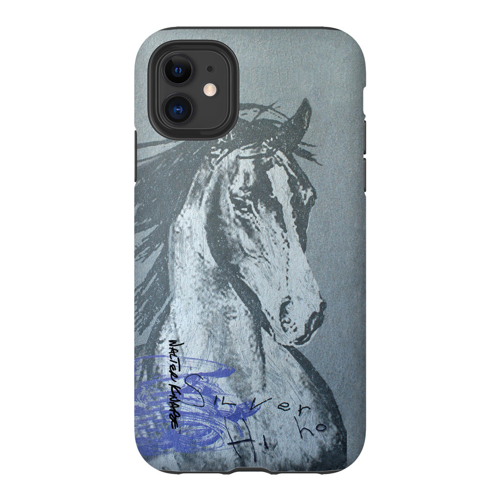Walter Knabe iPhone Tough Case Hi Ho Silver