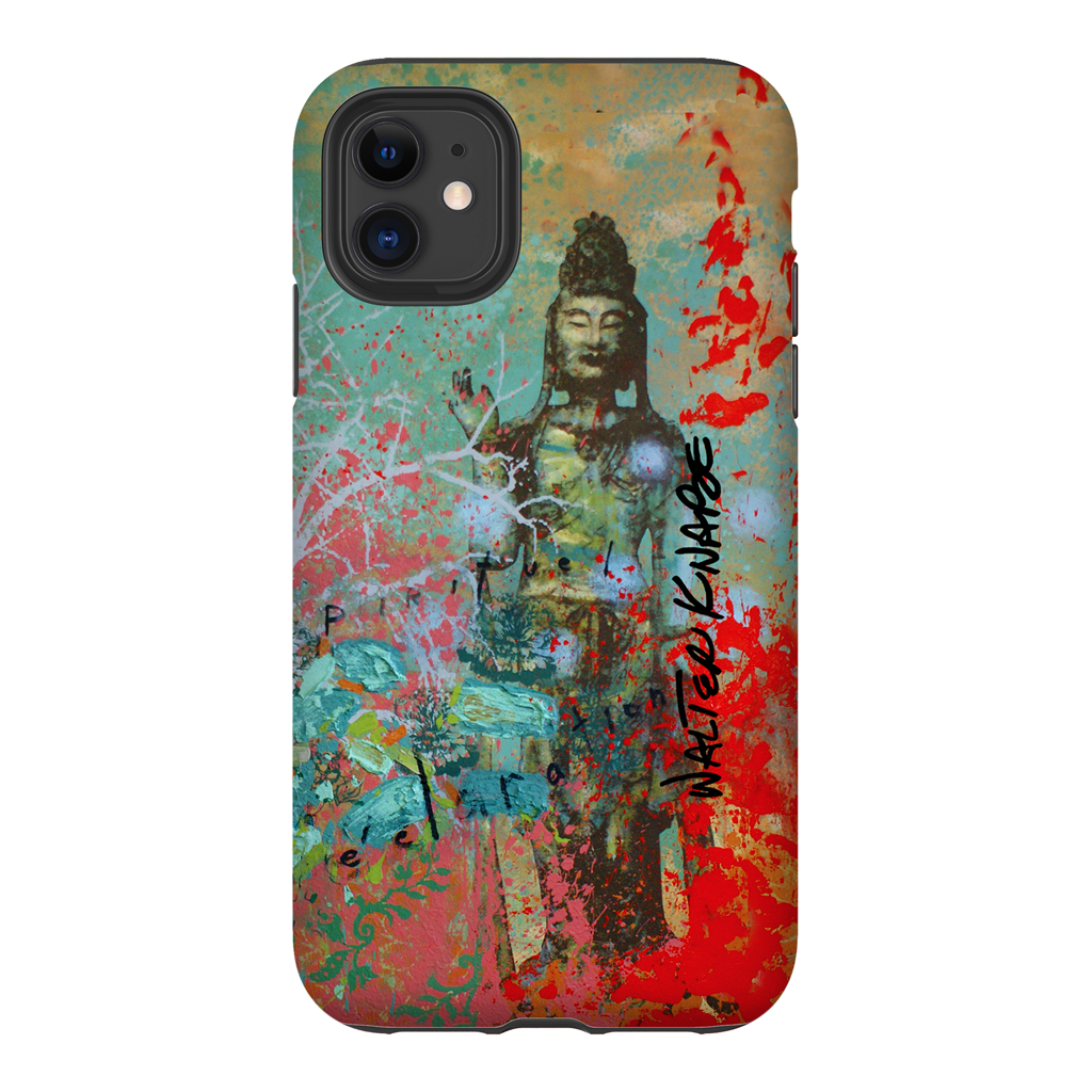 Walter Knabe iPhone Tough Case Spiritual Declaration