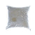 Walter Knabe Pillow Hand Printed Light Silver Creative Splatter