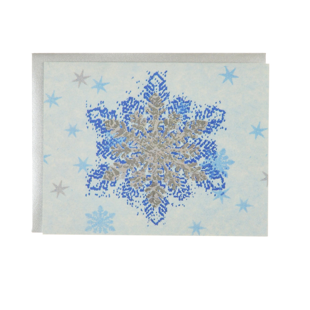 Walter Knabe Holiday Notecard Set Snowflake