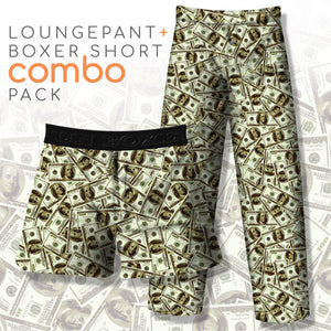 Money Bills (Pant+Boxer)
