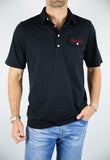 TEJAS TECH BLACK POLO