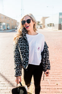 The Jen Long Sleeve Tee - SMU