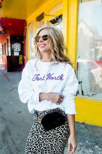 TOWN SERIES FORT WORTH SWEATSHIRT