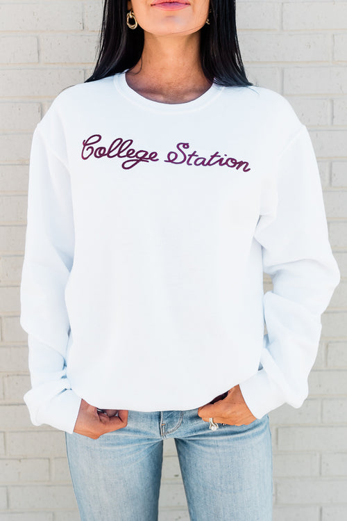 TOWN SERIES COLLEGE STATION SWEATSHIRT