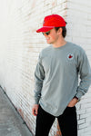 SPIRIT LONG SLEEVE BASKETBALL TEE