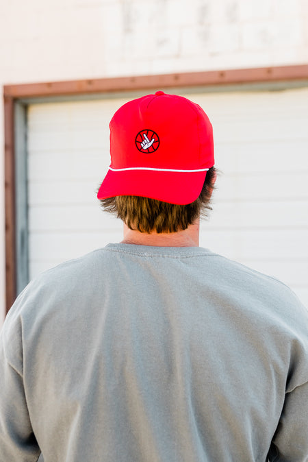 BIG RED ROPE HAT - TEXAS TECH