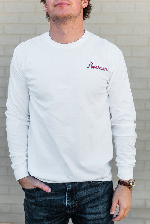 TOWN SERIES NORMAN LONG SLEEVE TEE