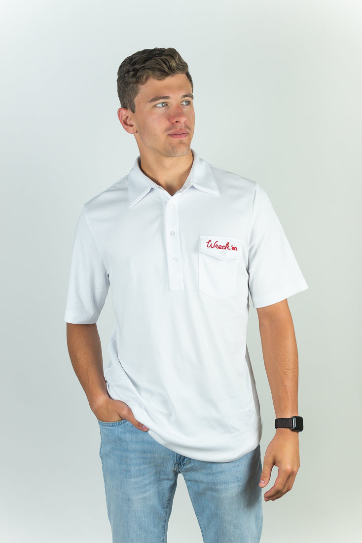 WRECK 'EM PERFORMANCE POLO - TEXAS TECH