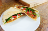 Harissa Red Pepper Pita Wrap