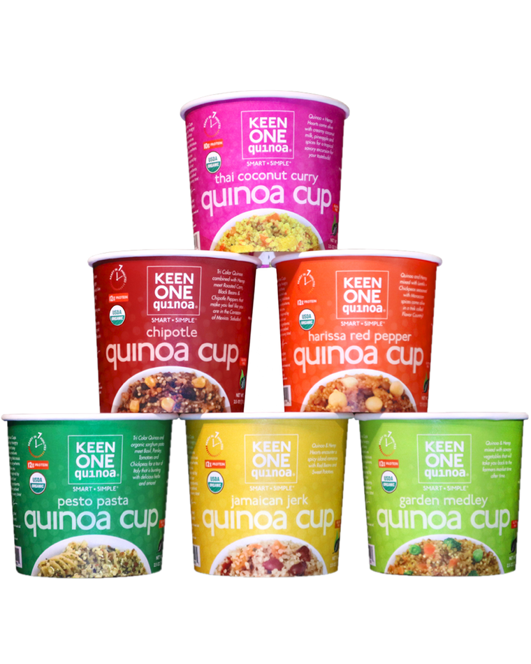Mixed Quinoa Cup Case of 6 - One of Each!