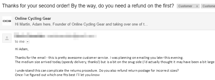 Refund Screenshot