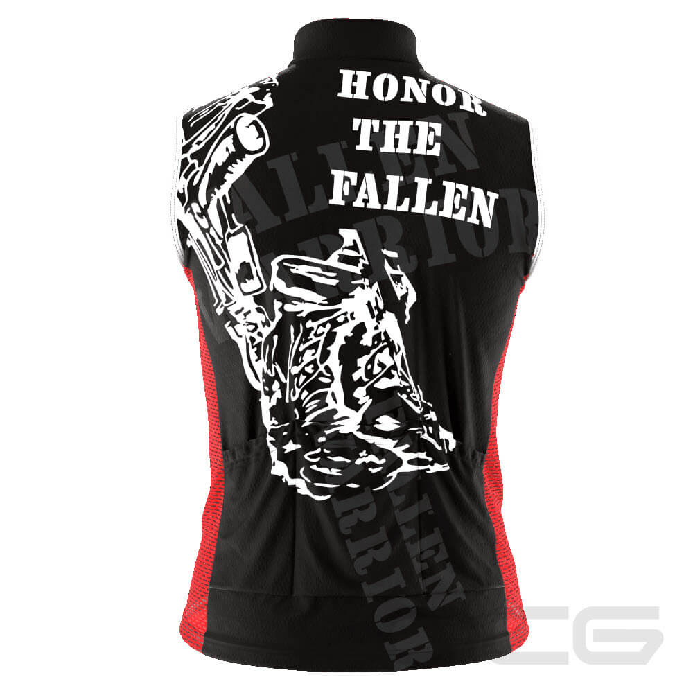 Men's Honor the Fallen Sleeveless Cycling Jersey