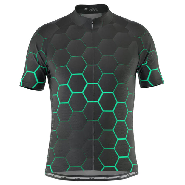 Men's Radioactive Short Sleeve Cycling Jersey