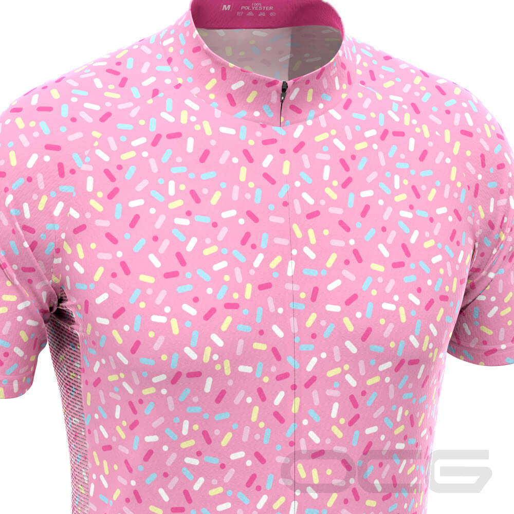 Men's Candy Makes Me Happy Short Sleeve Cycling Jersey