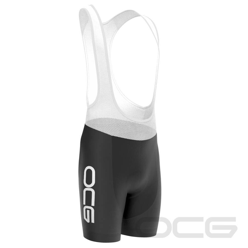 Men's OCG Bold Black Cycling Bib