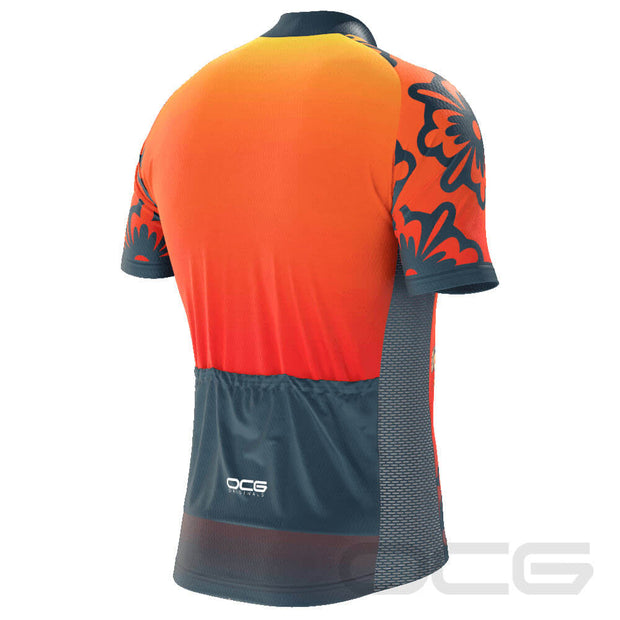 Men's Maui Skull Short Sleeve Cycling Jersey