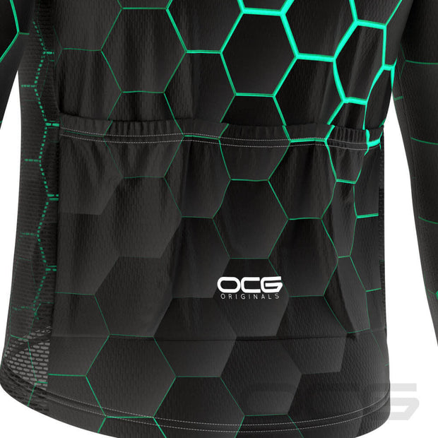 Men's Radioactive Long Sleeve Cycling Jersey