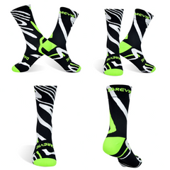 DV Unisex Animal Print Pro Cycling Socks
