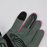 DV Neon Line Touch Screen Thermal Windproof Winter Cycling Gloves