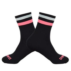 DV Two Stripe Mid-Length Pro Cycling Socks