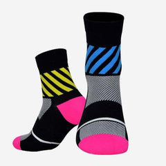 DV Diagonals Mid-Length Pro Cycling Socks