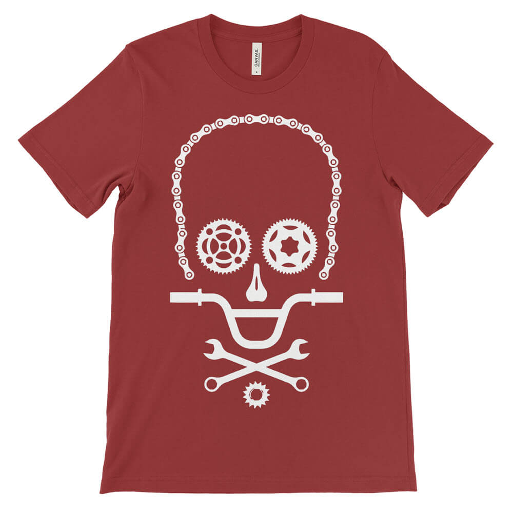 Men's Cycling Skull Cycling T-Shirt