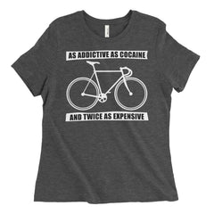 Women's Cycling Addict Relaxed Fit T-Shirt