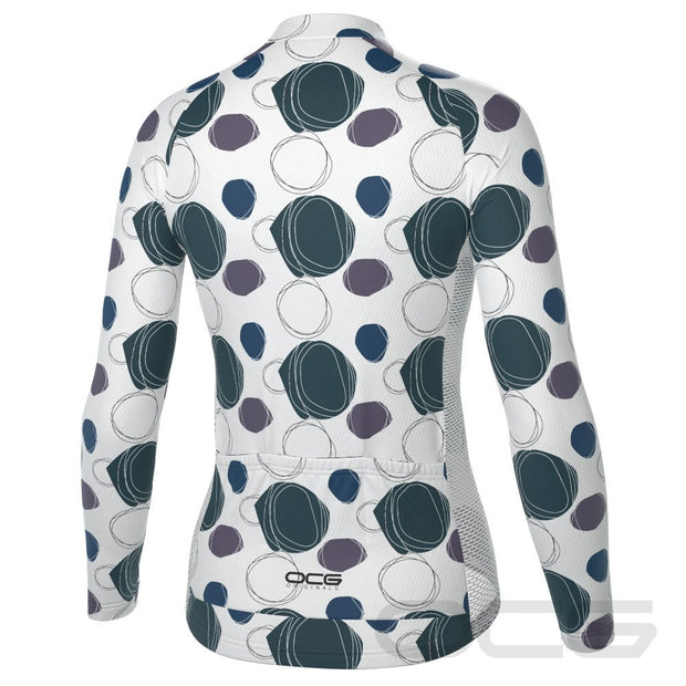 Women's The Orbs Long Sleeve Cycling Jersey