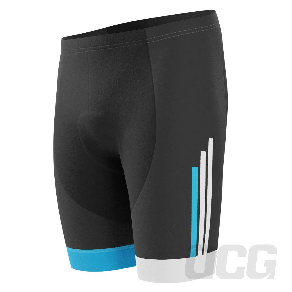 Men's Blue American Stripes Pro-Band Cycling Shorts