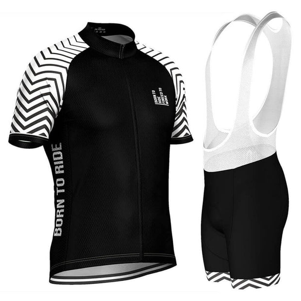 Born To Ride Forced To Work Pro-Band Cycling Kit By OCG Originals