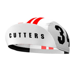Cutters Breaking Away Quick-Dry White Cycling Cap
