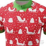 Men's Christmas Elf Season To Ride Short Sleeve  Cycling Jersey