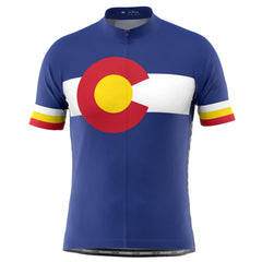 Men's Colorado USA State Short Sleeve Cycling Jersey