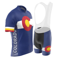 Men's Colorado US State Short Sleeve Cycling Kit