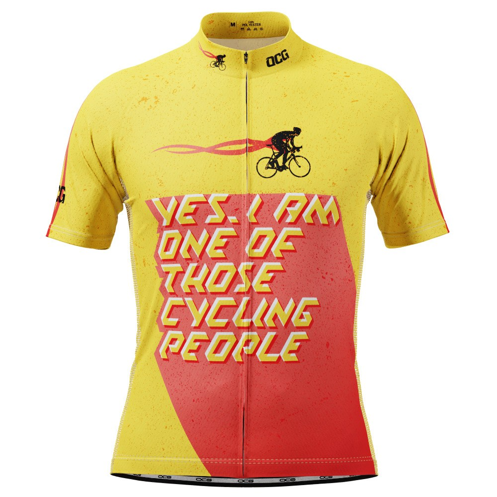 Men's One of Those Cycling People Short Sleeve Cycling Jersey