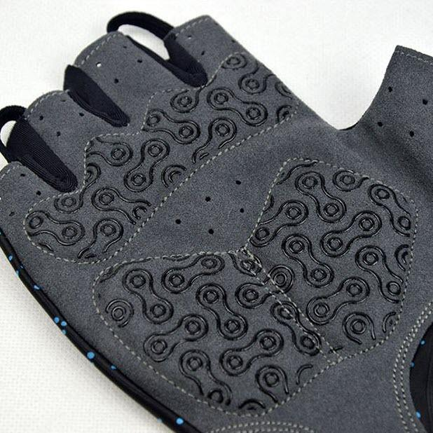 DV Cosmos Half Finger Gel Padded Cycling Gloves