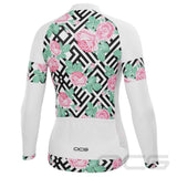 Women's Floral Maze Long Sleeve Cycling Jersey