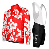 Hawaiian Shirt Aloha Floral Long Sleeve Pro-Band Cycling Kit By OCG Originals