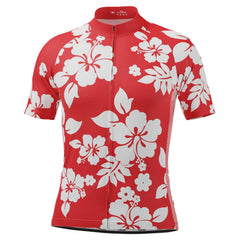 Men's Hawaiian Shirt Aloha Floral Cycling Jersey