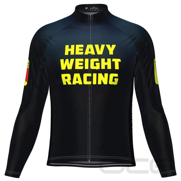 Heavy Weight Racing Gravity Long Sleeve Cycling Jersey By OCG Originals