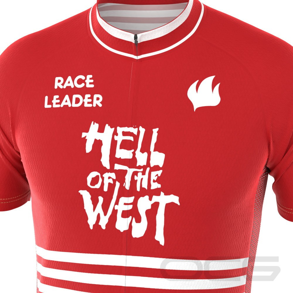 Men's Retro Hell Of The West Short Sleeve Cycling Jersey