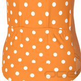 Women's High Visibility Polka Dot Cycling Jersey
